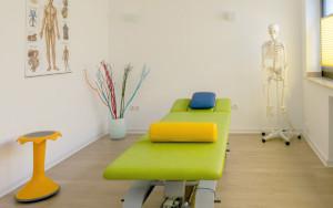 Praxisraum physiotherapeutische Praxis Falen Köln